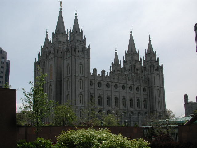 Salt Lake City, UT: Mormon Temple, Temple Square, Salt Lake City