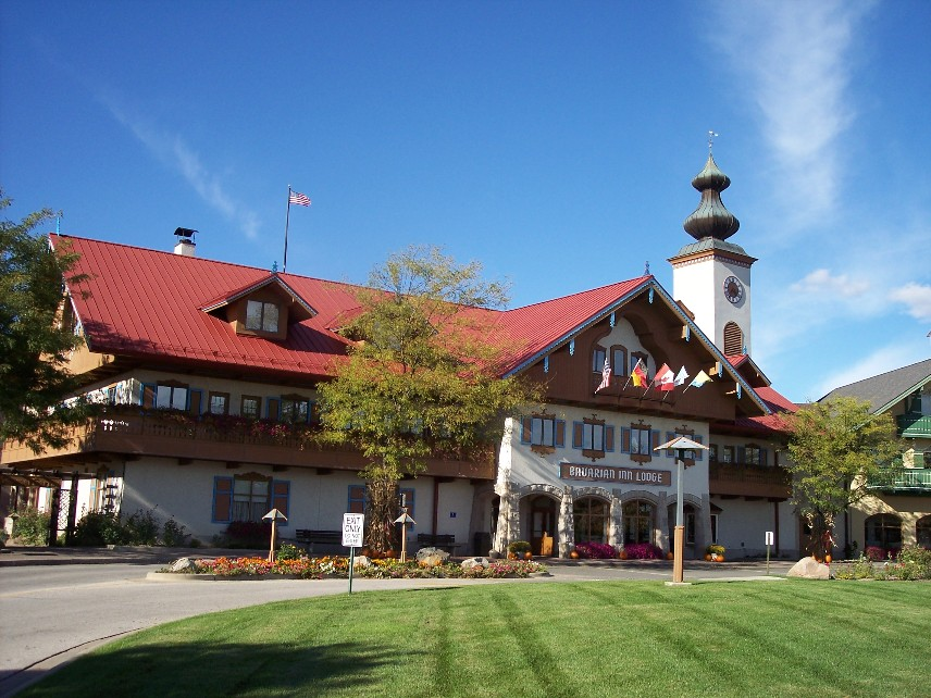 Bavarian Inn Lodge Frankenmuth Michigan