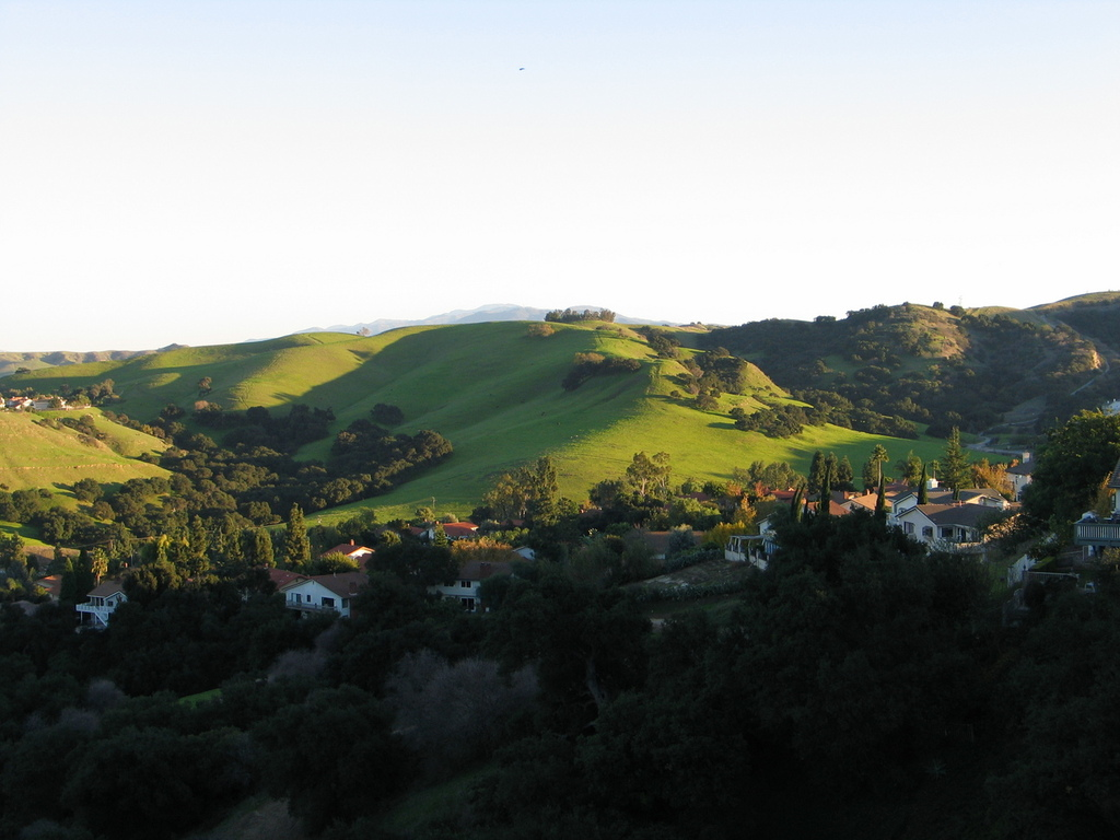 Chino Hills, CA : Some of the rolling hills in my city