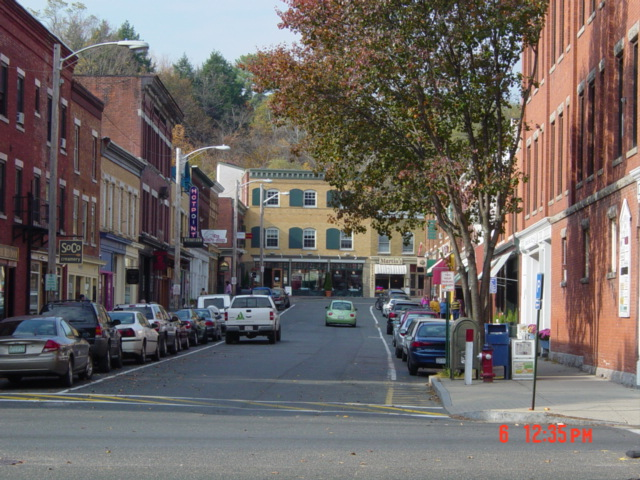 Great Barrington, MA : Railroad Street