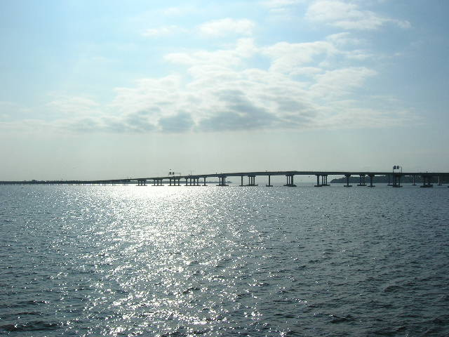New Bern, NC: bridge over Neuse River