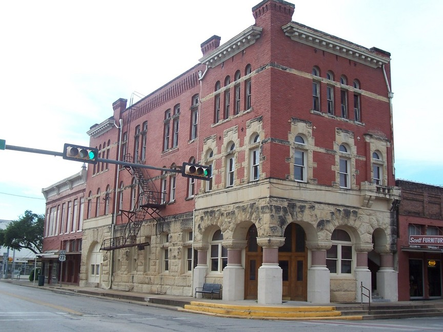 Waxahachie, TX: A Historic Downtown Building
