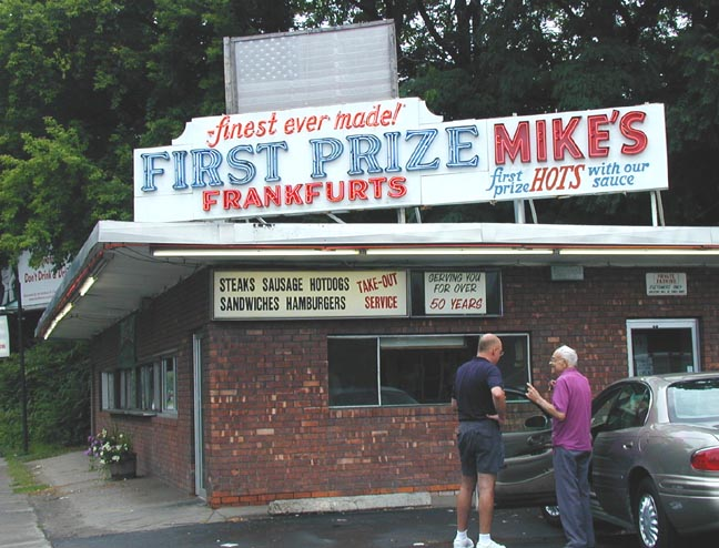 Schenectady, NY : Mike's Hot Dogs, the best in the world