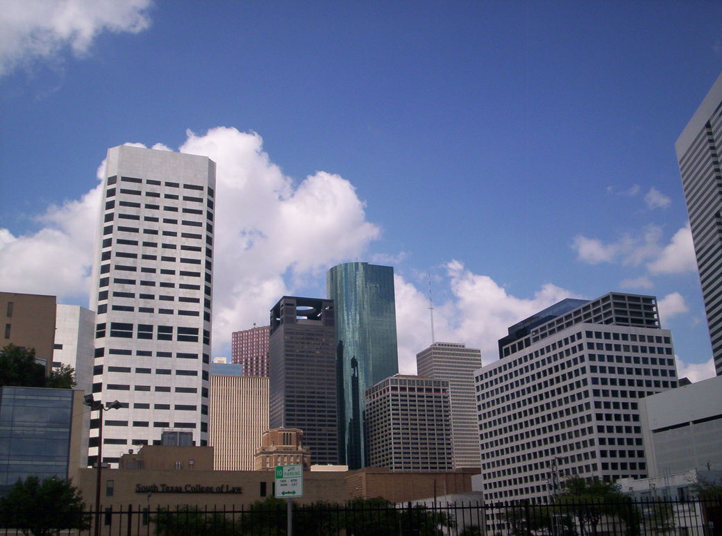 Houston, TX : Houston Skyline South Side