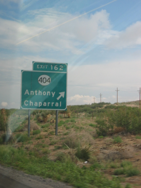 Anthony, NM: I-10 Welcome to Anthony!