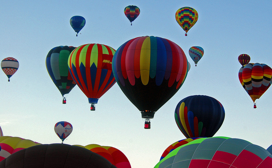 Albuquerque, NM: Albuquerque International Balloon Fiesta