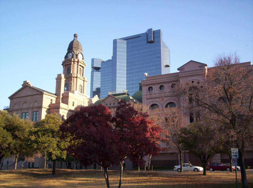 Fort Worth, TX : Tarrant County Courthouse