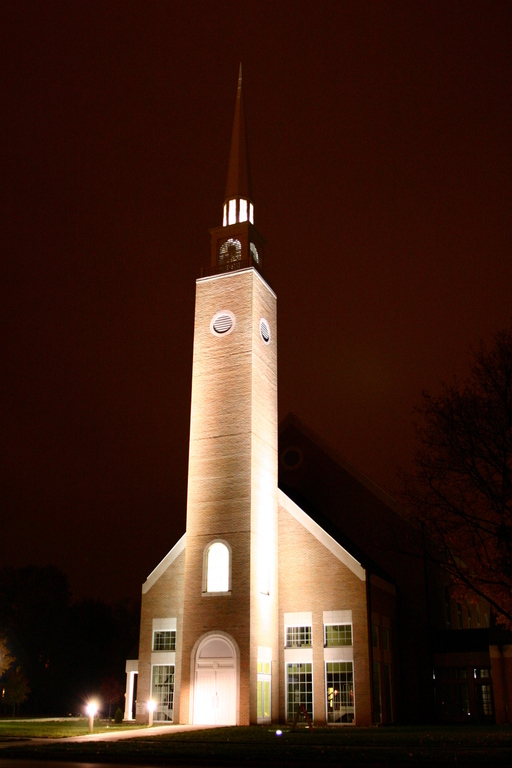 Beloit, WI: 1st Congregational Church, rebulit after the fire