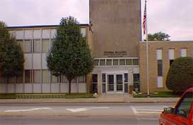 Benton, IL : Federal Courthouse in Benton