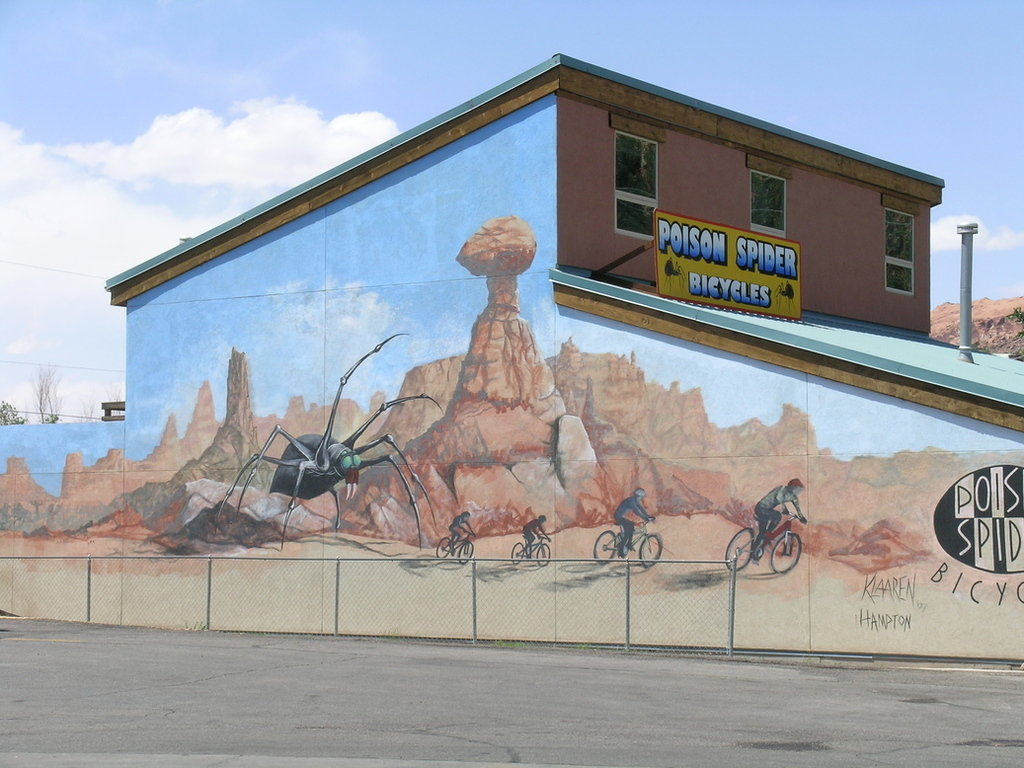 Moab, UT : Moab,Street painting