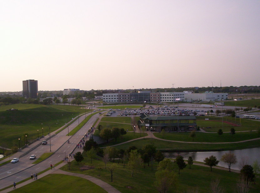 Arlington, TX : Arlington from Ameriquest Field