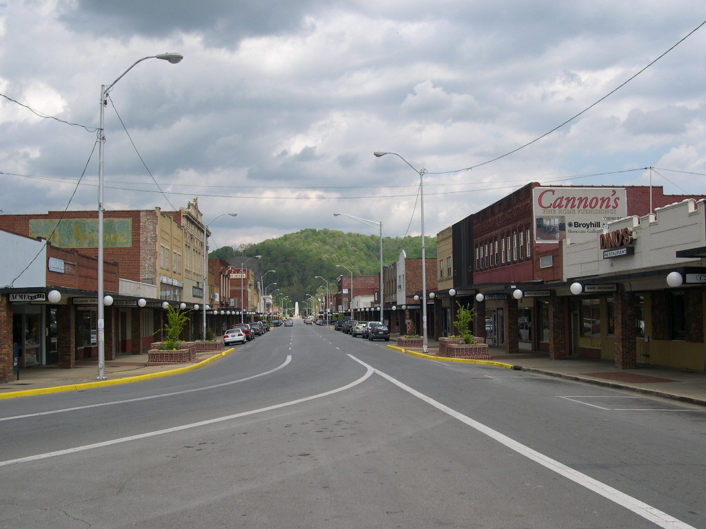 Elizabethton, TN: Downtown Elizabethton - Business District