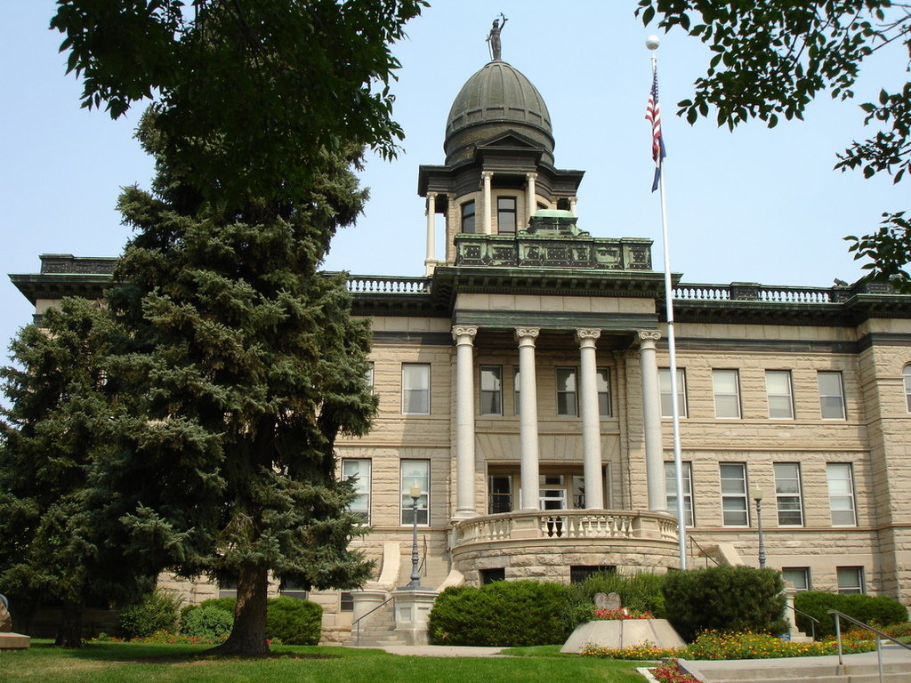 Great Falls, MT : Cascade County Courthouse, Great Falls, MT