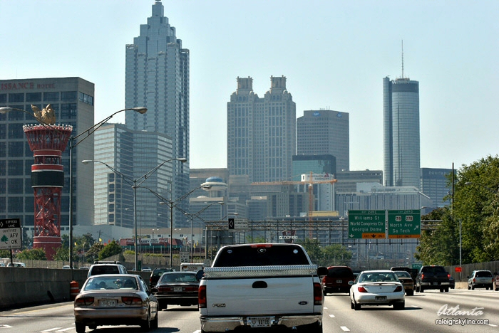 Atlanta, GA: Interstate 75/85 Downtown
