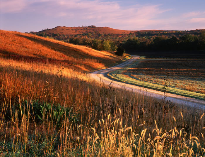 Manhattan, KS: The Konza Prairie near Manhattan