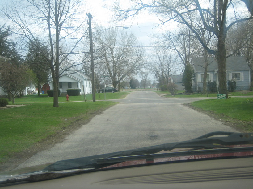 Coal City, IL : just a street in coal city