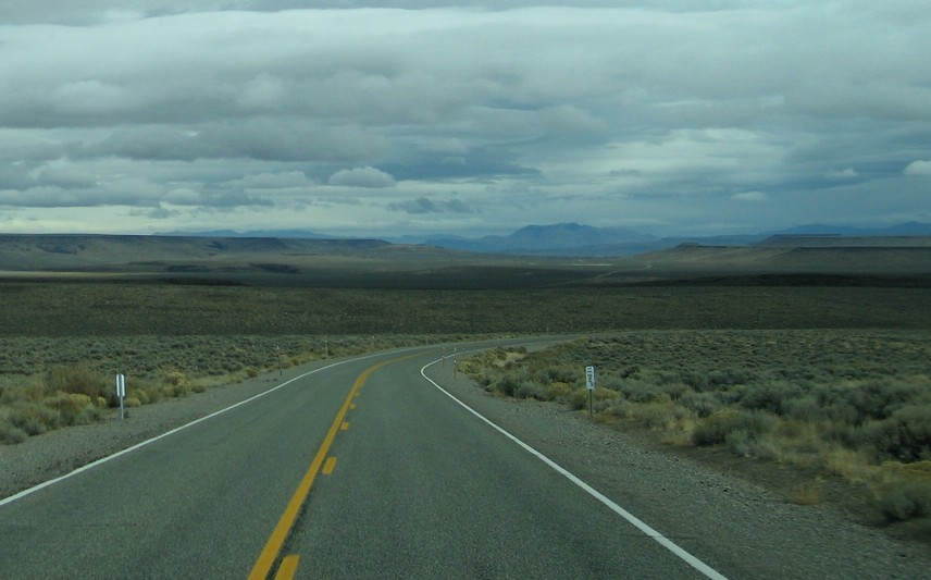 Winnemucca, NV : The Big EmptyThe road to