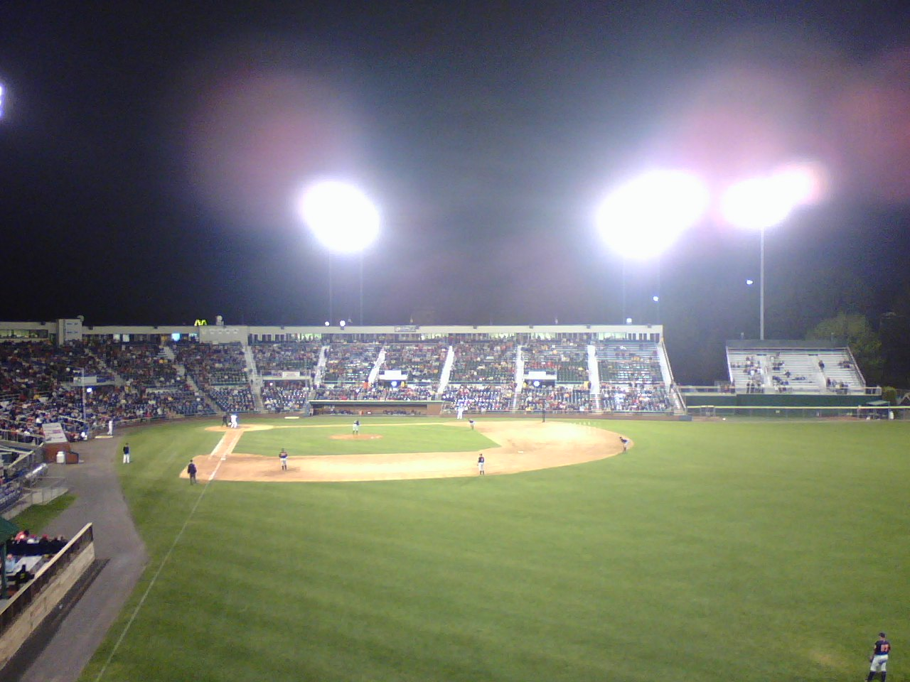 Portland, ME : Hadlock Field- Home of the Seadogs