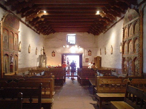 Chimayo, NM : Santuario de Chimayo in Chimayo, NM - June 17, 2004