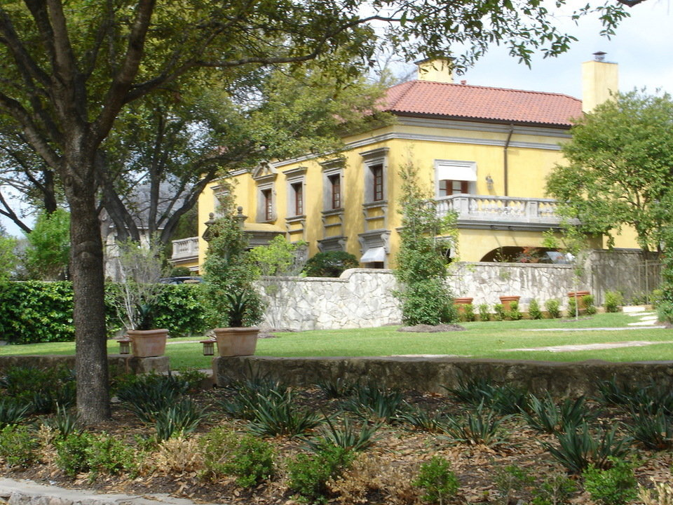 Olmos Park Tx Italian Villa In Olmos Park Texas Photo