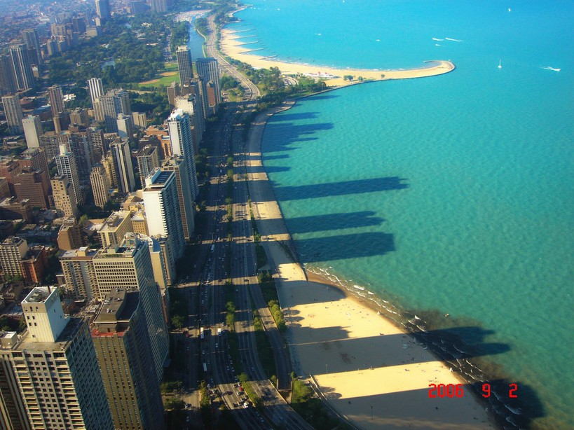 Chicago, IL : View from Hancock Building