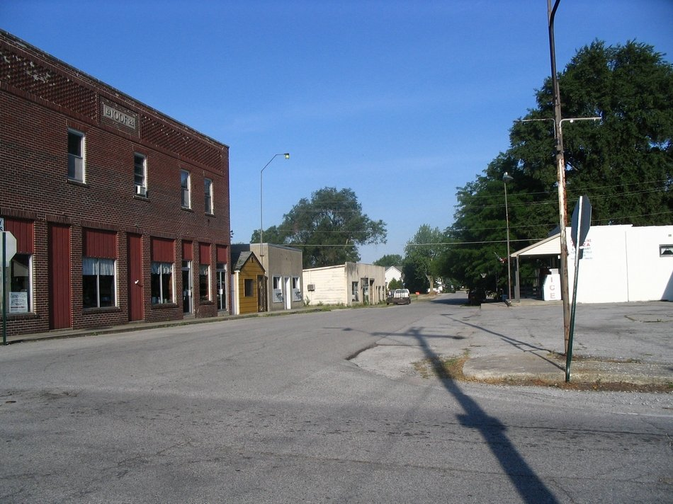 Zanesville, IN : Downtown