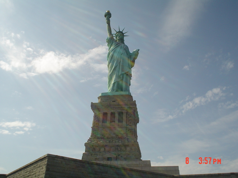 Manhattan, NY : Statue of Liberty