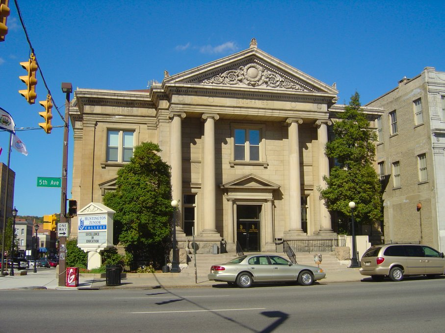 Huntington, WV : Huntington Junior College (formerly the Carnegie Library)
