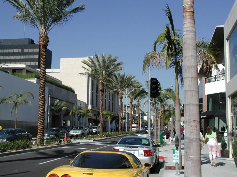 Beverly Hills, CA : Rodeo Drive, Beverly Hills, CA