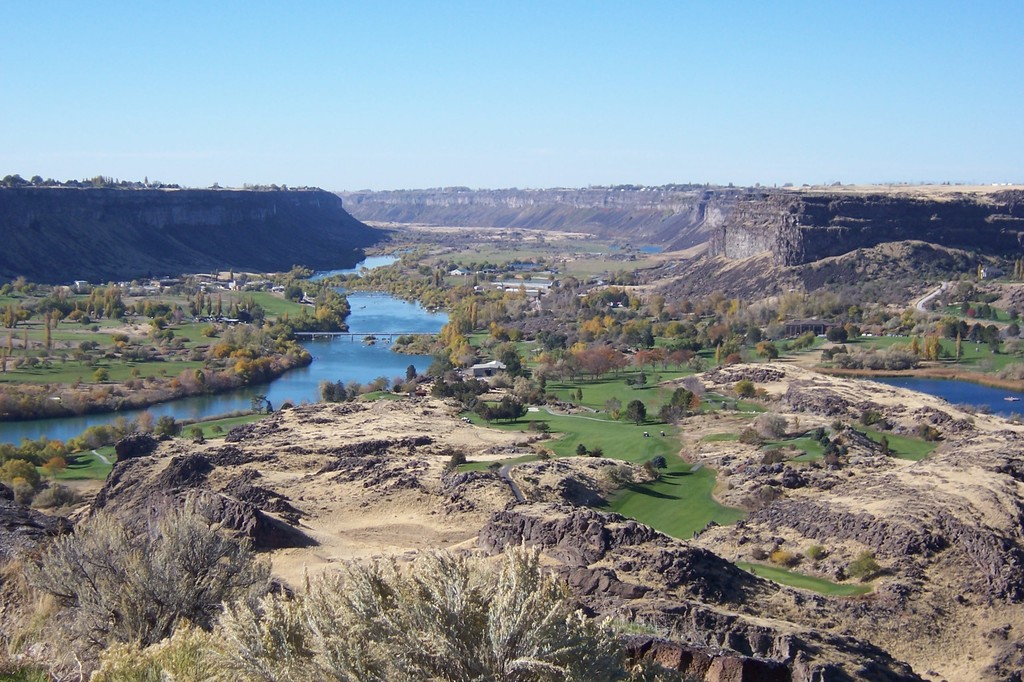 Twin Falls, ID : Snake River Gorge Golf Course