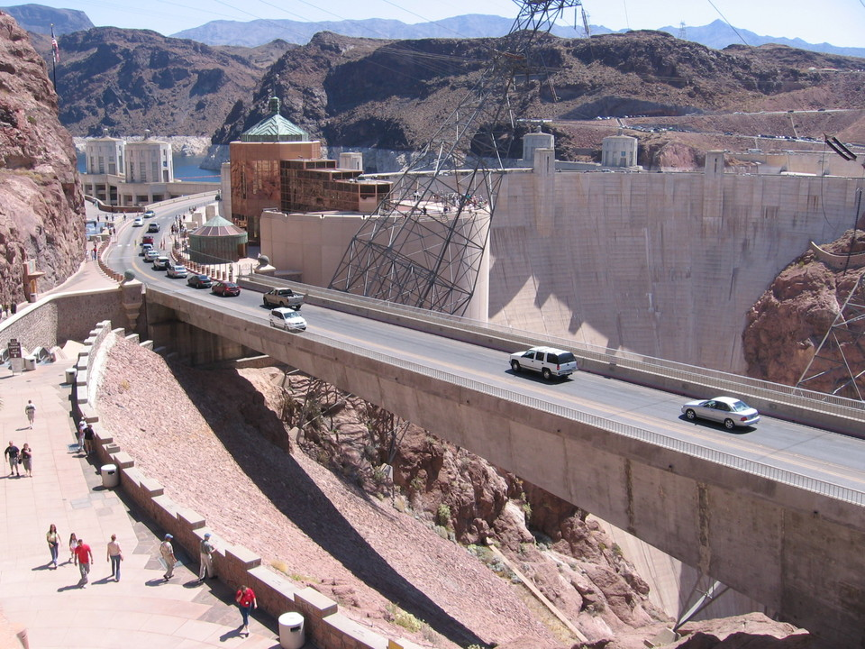 Boulder City, NV : HWY @ Hoover Dam, Boulder City Nevada
