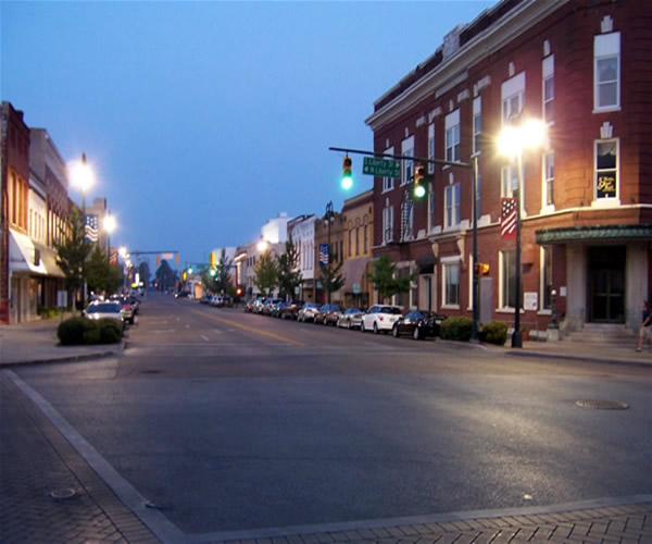 Jackson, TN : Downtown Jackson