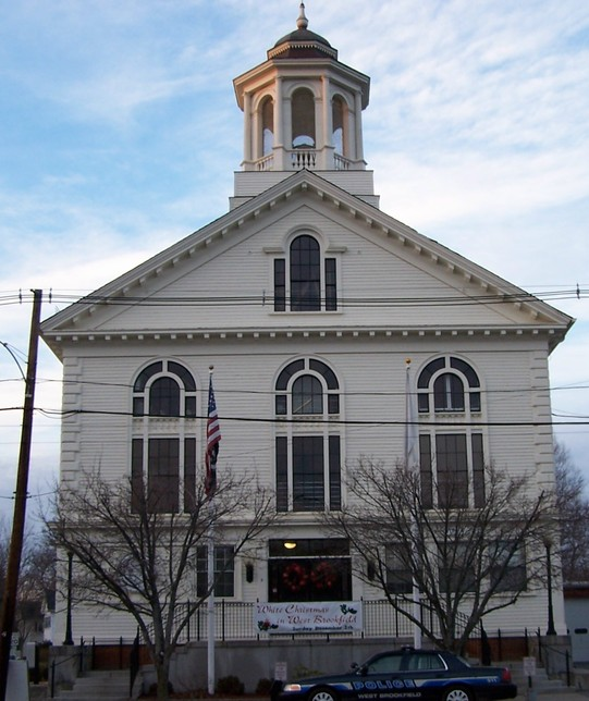 West Brookfield, MA : Town Hall http://wbrookfield.com