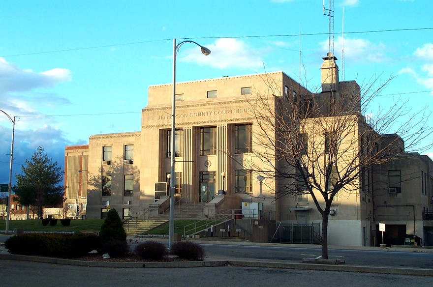 Mount Vernon, IL : Jefferson County Courthouse
