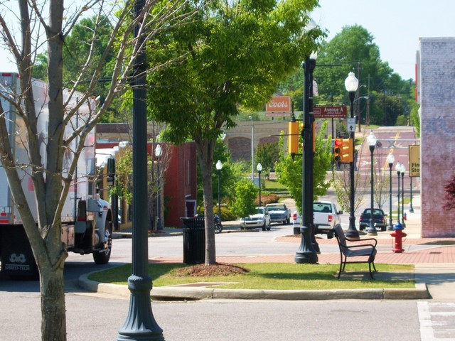 Opelika, AL : Downtown