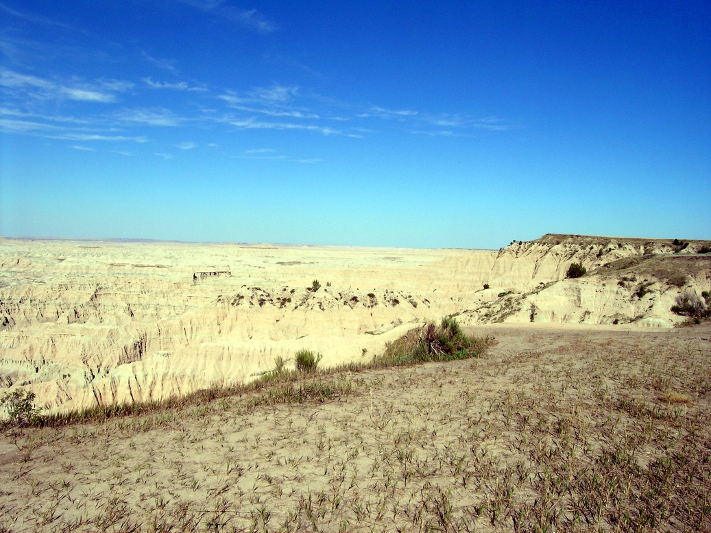 Pine Ridge, SD : In the BADLANDS Juli 2007