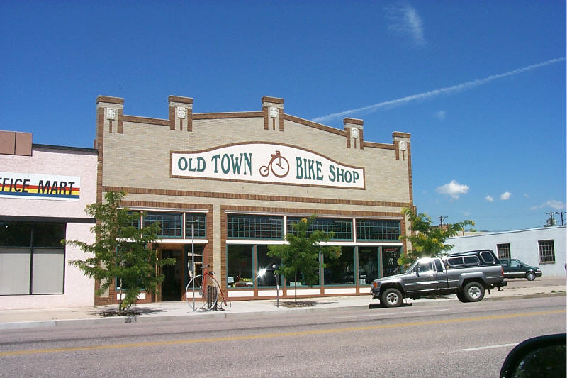 Bike Store In Colorado Springs Co. Colorado Springs CO Old