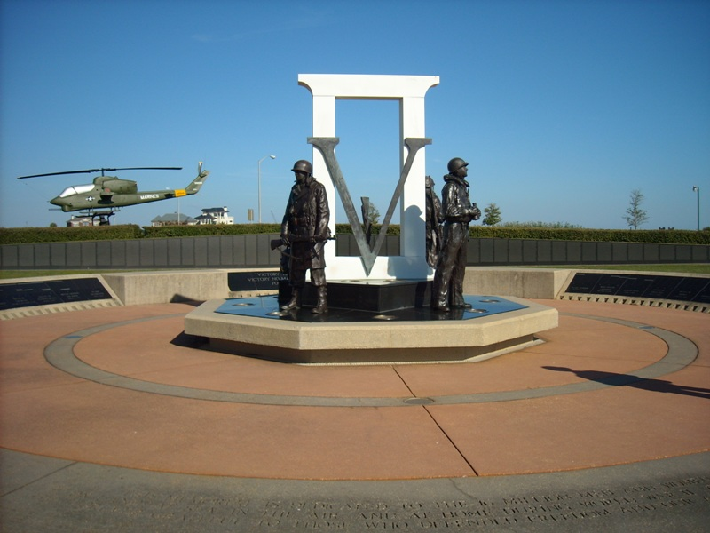 Pensacola, FL : World War II Memorial at Veteran's Memorial Park