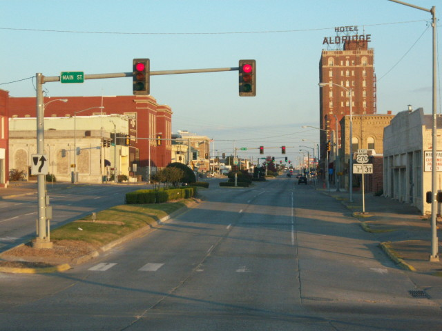 McAlester, OK : Downtown