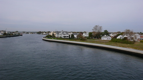 Neptune City, NJ : SHARK RIVER FROM BRIDGE