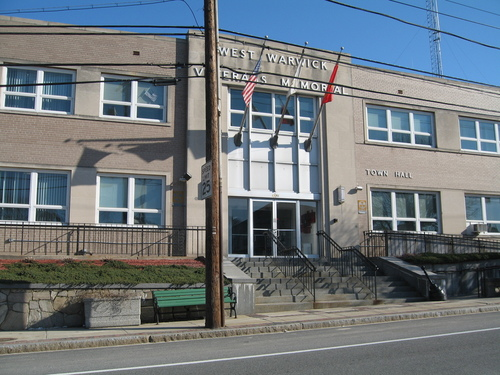 West Warwick, RI : WEST WARWICK TOWN HALL