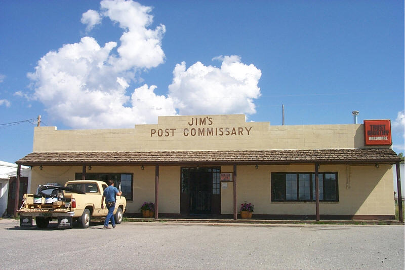 Fort Garland, CO : Jim's Post Commissary