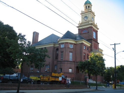 Cumberland, RI : CUMBERLAND TOWN HALL