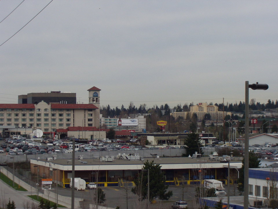 SeaTac, WA : SeaTac and Hotel Row