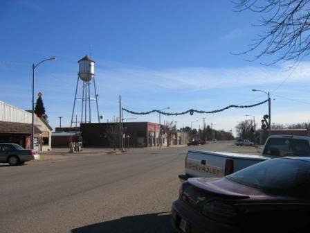Argonia, KS : Argonia Main Street and Water Tower