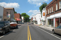 Dayton, TN: Market Street in Historic Downtown Dayton, TN