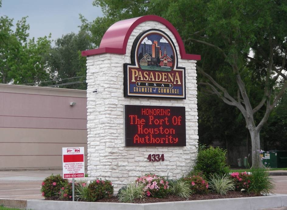 Pasadena, TX: Chamber Of Commerce Marker
