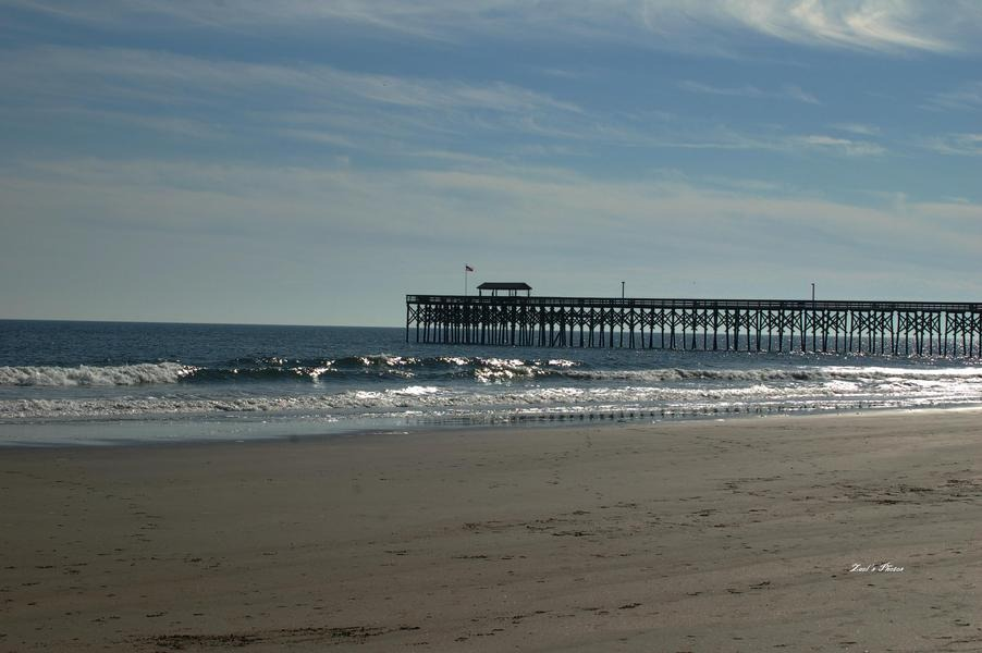 Garden City, SC : Pier at Folybeach, Charleston, SC