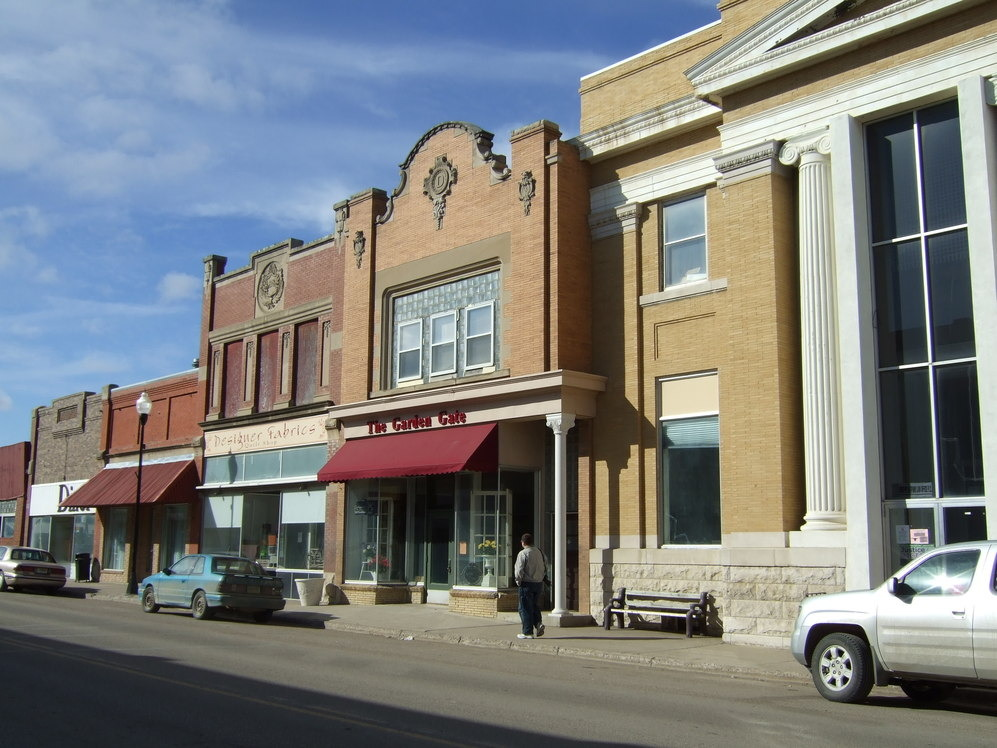 Carrington, ND: Main Street: Carrington, North Dakota