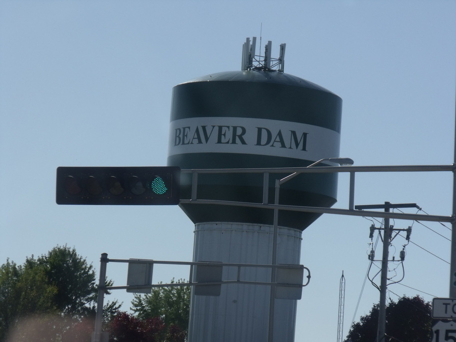 Beaver Dam, WI: Beaver Dam water tower